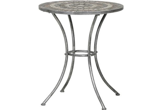 Siena Garden Felina Tisch Rund O 70cm Eisen M Mosaikoptik Hertie De