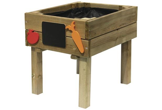 forest style holz kinder lernbeet 40x50x 46cm zubeh r. Black Bedroom Furniture Sets. Home Design Ideas
