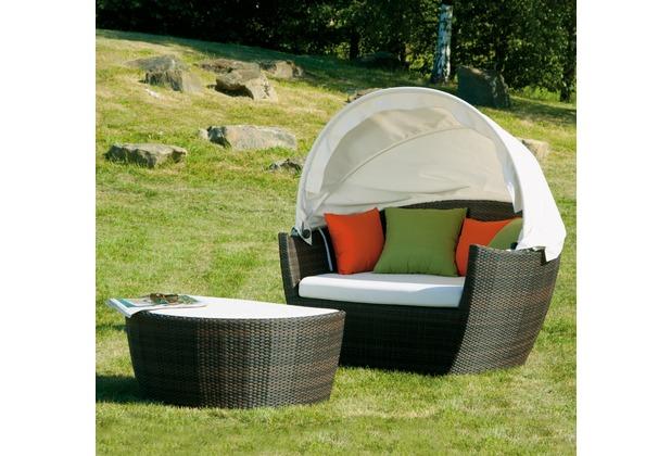 siena garden hawaii maron sitzkissen sonnendach beige. Black Bedroom Furniture Sets. Home Design Ideas