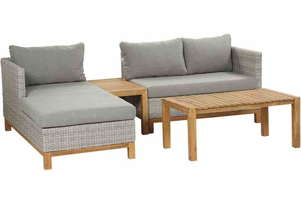 siena garden ohio loungeset 4 tlg. Black Bedroom Furniture Sets. Home Design Ideas