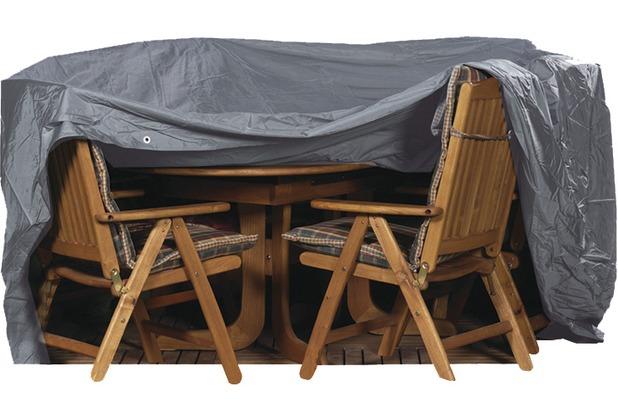 siena garden sitzgruppenh lle 230 x 135 cm polyestergewebe oxford 600 anthrazit oval 235. Black Bedroom Furniture Sets. Home Design Ideas