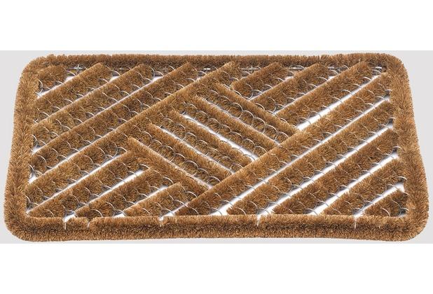 Siena Home Kokosfußmatte Cocos Brush 40 x 60 cm Fußabtreter Schmutzfangmatte