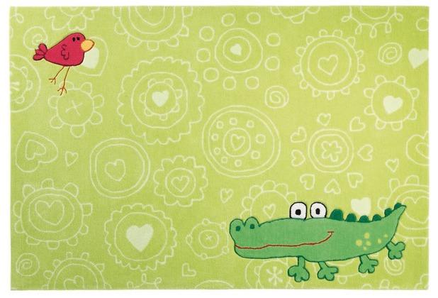 Sigikid Kinder-Teppich, Happy Zoo, Crocodile SK-3341 grün   Hertie.de