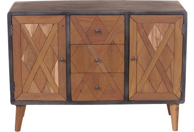 Sehr SIT-Möbel CROSS Sideboard 3 Schubladen, 2 Türen Holz natur GT27