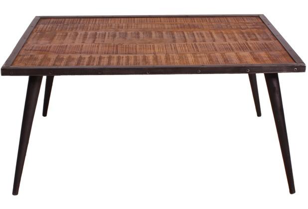 Couchtisch antik schwarz  SIT-Möbel IRON Couchtisch burnt oak-color mit antikschwarz | Hertie.de
