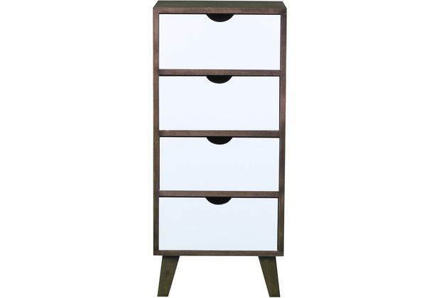 sit m bel macao kommode 4 schubladen braun schubladen wei. Black Bedroom Furniture Sets. Home Design Ideas