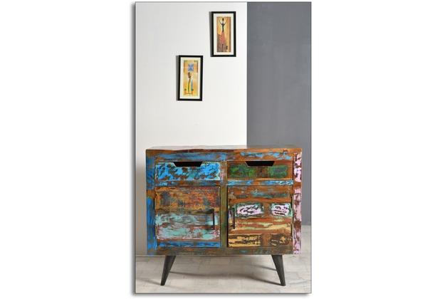 Möbel Bunt sit möbel miami sideboard 2 türen 2 schubladen bunt hertie de