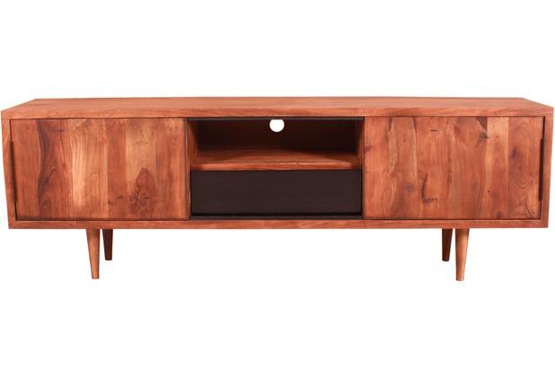 SIT-Möbel MID CENTURY Lowboard 2 Schiebetüren, 1 Schublade, 1 ...