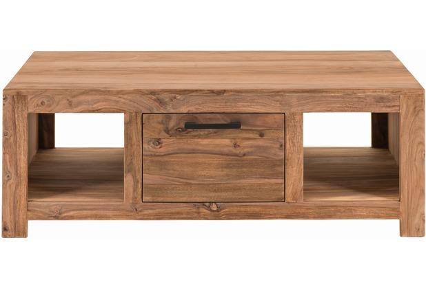 SIT-Möbel SANAM Couchtisch 1 Schublade, 2 offene Fächer natur