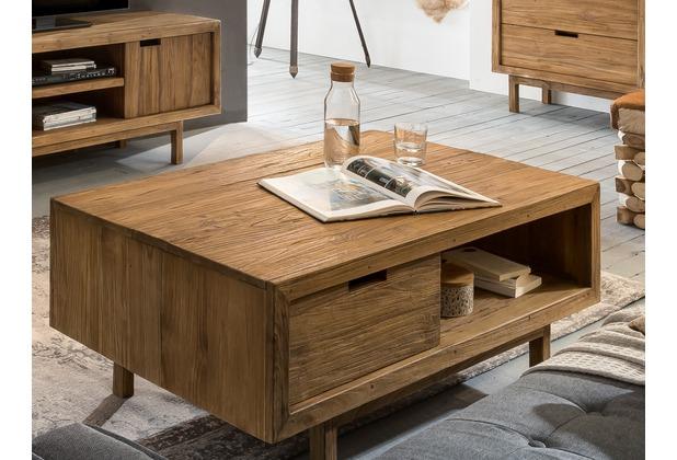Sit Möbel Sanur Couchtisch 1 Schublade 1 Offenes Fach Natur Hertiede