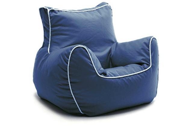 Sitting Bull Mini Sessel Bamp Blau Hertiede