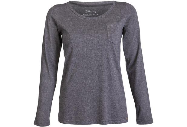 Skiny Sleep   Dream Shirt Langarm, coal grey melange   Hertie.de fba854d77a
