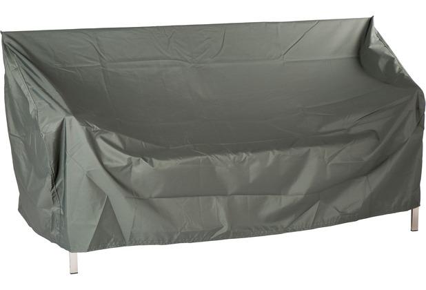 Stern Schutzhulle Fur Bank 3 Sitzer Mit Bindebandern 100 Polyester Grau