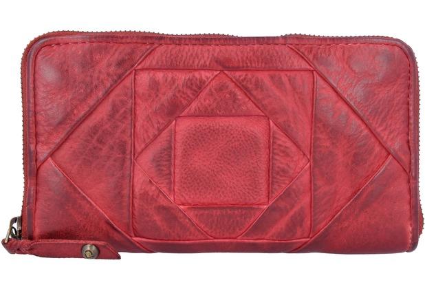 63335c501e92f Taschendieb Wien Geldbörse Leder 20 cm rot