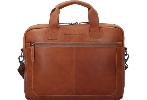 3045a24e800ab The Chesterfield Brand Calvi Aktentasche Leder 40 cm Laptopfach cognac