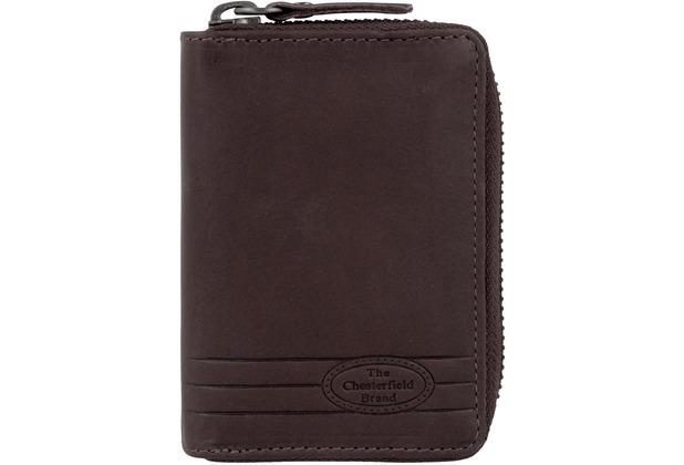 The Chesterfield Brand Robin Visitenkartenetui Leder 10 5 Cm Bruin