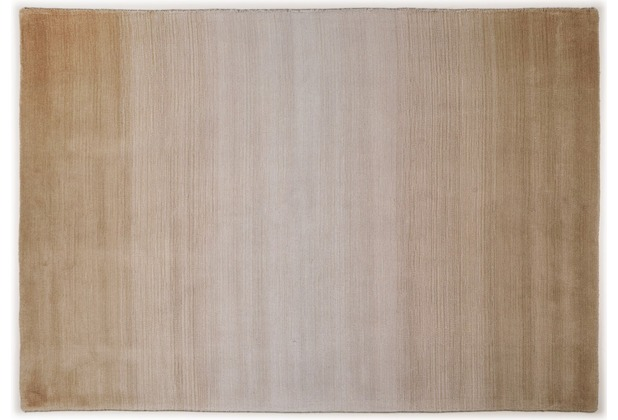 THEKO Teppich Wool Comfort, Ombre, beige  Hertiede