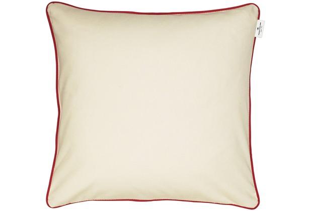 tom tailor kissen t dove ohne f llung 50 x 50 cm creme. Black Bedroom Furniture Sets. Home Design Ideas