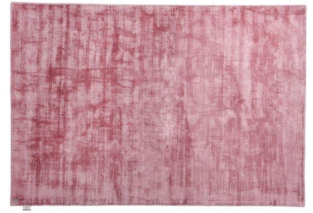 Tom Tailor Viskose Teppich Shine Uni 251 Rose Hertie De