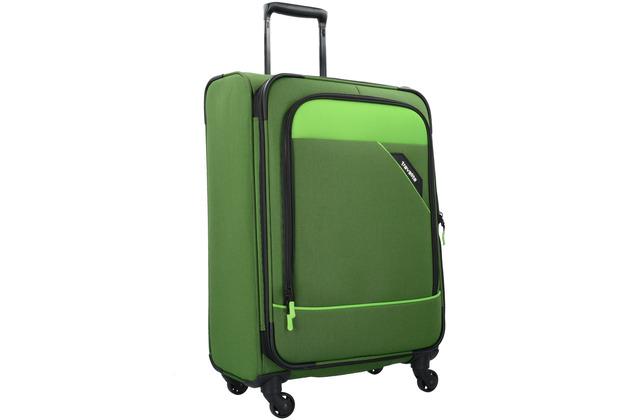 travelite derby 4 rad trolley set 4tlg 80 gr n. Black Bedroom Furniture Sets. Home Design Ideas