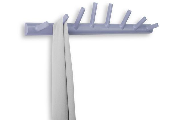 Umbra garderobe helix hook 8 haken lavendel for Garderobe umbra