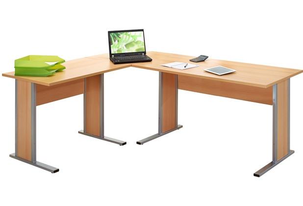 vcm 3 tlg schreibtisch set computertisch ecktisch winkeltisch pc tisch b rotisch aktano 420. Black Bedroom Furniture Sets. Home Design Ideas