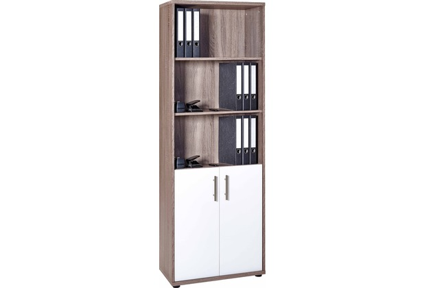 vcm aktenschrank b roschrank schrank regal b roregal universalschrank braso 268 eiche tr ffel. Black Bedroom Furniture Sets. Home Design Ideas