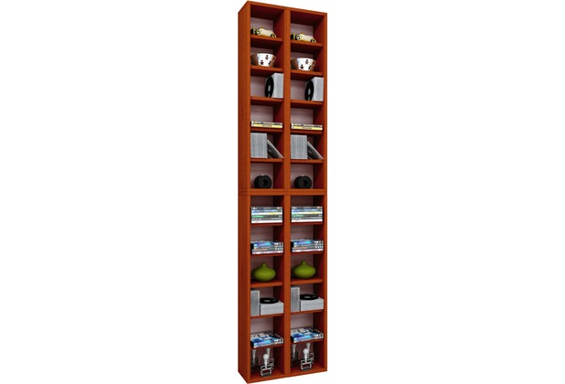 vcm regal dvd cd rack m bel aufbewahrung holzregal standregal m bel anbauprogramm almera. Black Bedroom Furniture Sets. Home Design Ideas