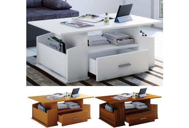 VCM Couchtisch Sofatisch Wohnzimmertisch Beistelltisch Schublade Wohnzimmer  Tisch \