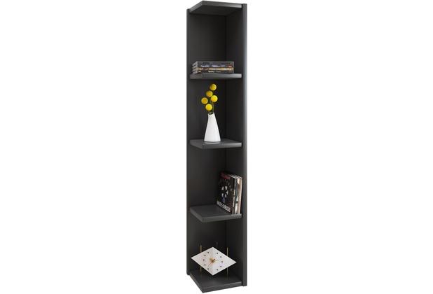 vcm eckregal wandregal standregal b cherregal cd dvd regal. Black Bedroom Furniture Sets. Home Design Ideas