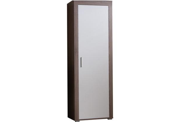 Design Garderobe Mdf Holz Chinese Door ~ VCM Garderobenschrank  Priso   Diele Jackenständer Eiche Trüffel