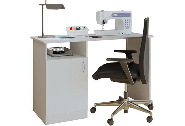 Vcm Nähmaschinentisch Nähschrank Nähtischchen Sekretär Schreibtisch