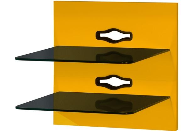 VCM Paneelserie Xeno2 Klarglas Schwarzglas  Hifi