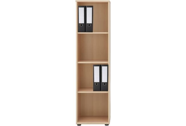 Büromöbel schrank buche  VCM Regal Büroregal Bücherregal Aktenregal Standregal Schrank ...