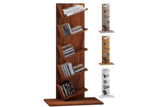 Vcm Regal Standregal Bücherregal Möbel Holz Büro Aufbewahrung Amiso Sonoma Eiche