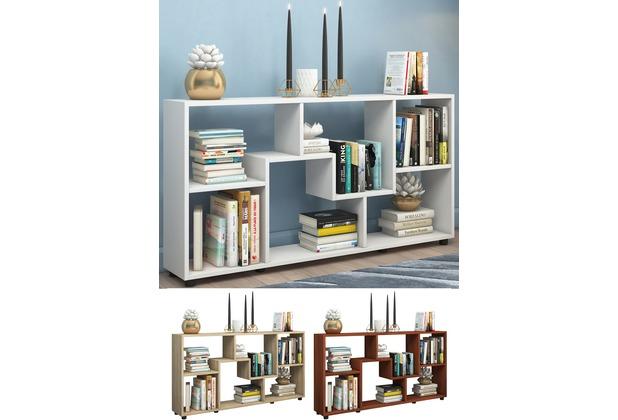 vcm regal standregal kommode b cherregal sideboard. Black Bedroom Furniture Sets. Home Design Ideas