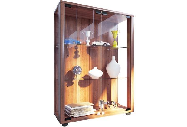 standvitrine kernnussbaum bestseller shop f r m bel und einrichtungen. Black Bedroom Furniture Sets. Home Design Ideas