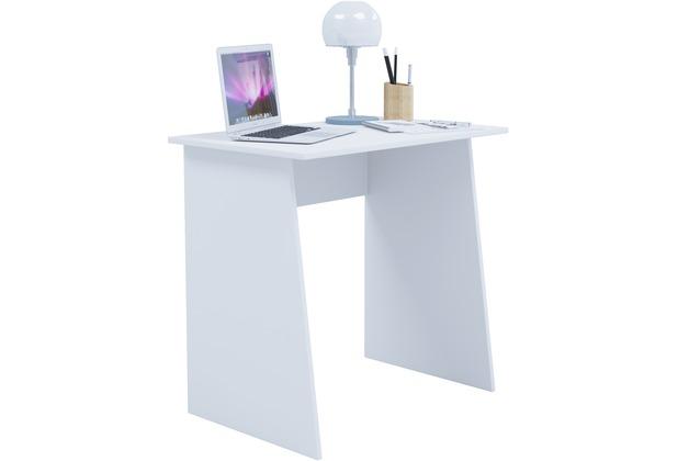 Büro eckschreibtisch weiß  VCM Schreibtisch Computertisch Arbeitstisch Büro Möbel PC Tisch ...