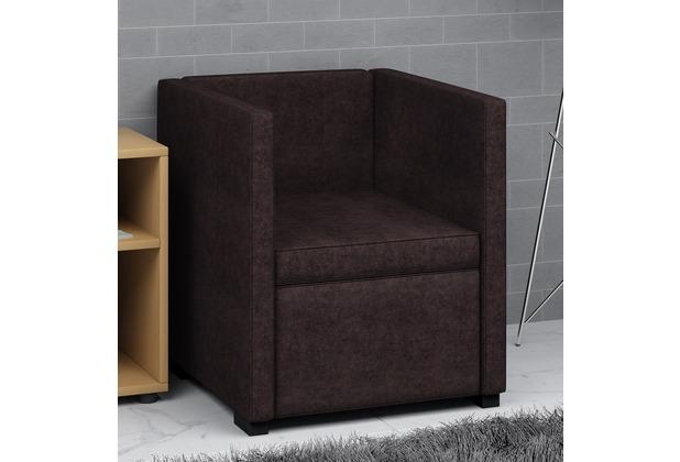 sessel braun stoff good furntrade sessel eureka mit sessel braun stoff sofa couch with sessel. Black Bedroom Furniture Sets. Home Design Ideas