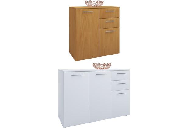 Vcm Sideboard Kommode Universal Schrank Regal Breite 106 Cm Sonoma