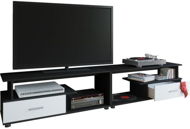 Vcm Tv Lowboard Schrank Tisch Rack Fernsehschrank Fernsehtisch Möbel