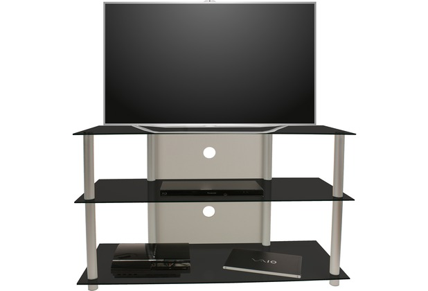 vcm tv m bel olopa xxl lcd rack led tisch alu glas. Black Bedroom Furniture Sets. Home Design Ideas