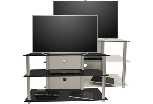 vcm tv rack lowboard konsole fernsehtisch tv m bel bank glastisch tisch schrank olopa xxl. Black Bedroom Furniture Sets. Home Design Ideas