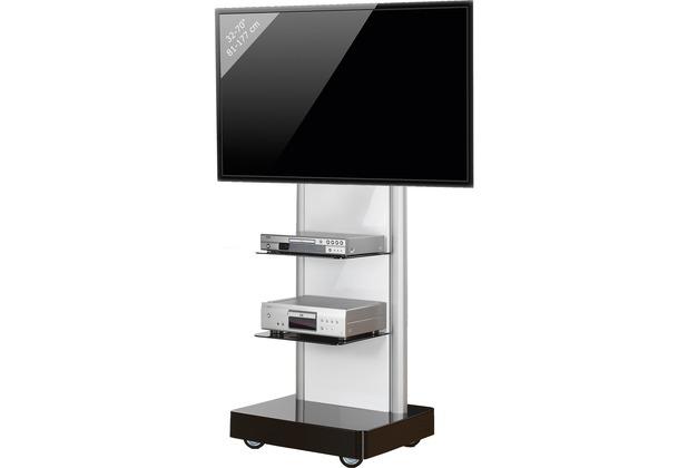 vcm tv standfu led st nder fernseh standfuss alu glas universal prostand universell vesa. Black Bedroom Furniture Sets. Home Design Ideas