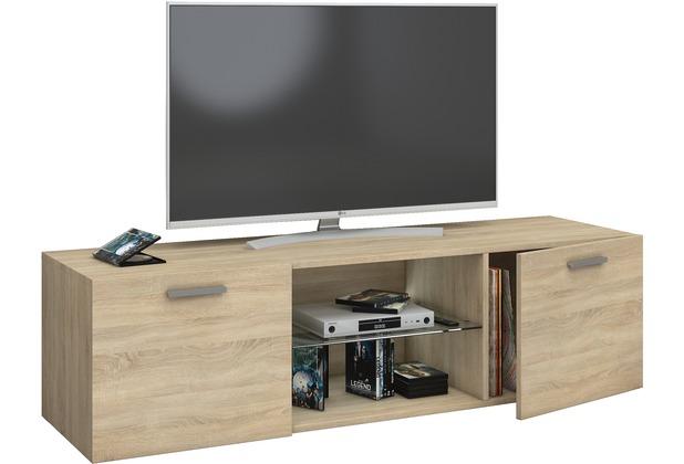 VCM TV Schrank Lowboard Tisch Board Fernseh Sideboard Wandschrank  95/115/140 Cm Wohnwand