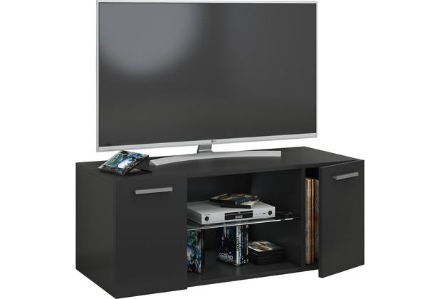 Tv schrank schwarz  VCM TV Schrank Lowboard Tisch Board Fernseh Sideboard Wandschrank ...