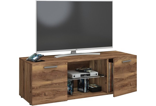 vcm tv lowboard fernsehtisch schrank m bel tisch holz sideboard medien rack fernsehbank lowina. Black Bedroom Furniture Sets. Home Design Ideas