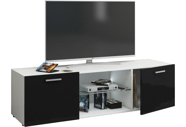VCM TV Wand Board Tisch Fernsehtisch Schrank Lowboard Hängeschrank  Wandschrank Rack Hochglanz \