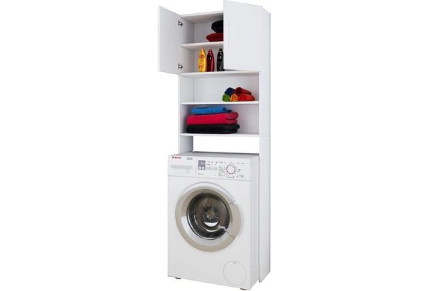 VCM Waschmaschinenschrank Badschrank Hochschrank Badregal Überbau ...