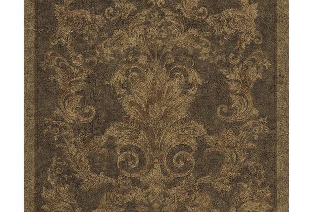 versace klassische mustertapete pompei tapete braun metallic schwarz. Black Bedroom Furniture Sets. Home Design Ideas